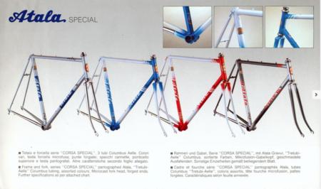 Atala Vintage Road Bikes 1987